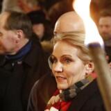 Statsminister Helle Thorning-Schmidt til mindehøjtidelighed på Østerbro.