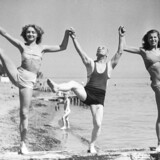 1948. Pantomimeteater på Bellevue.