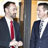 Kommunernes Landsforenings formand, Jacob Bundsgaard (S), og finansminister Kristian Jensen (V) skal lægge arm om 10 milliarder kroner.