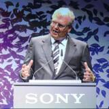Sony vil være størst på fladskærme om senest to år, siger topchef Howard Stringer. Foto: John MacDougall, AFP/Scanpix