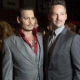 Johnny Depp og instruktøren Scott Cooper ved »Black mass«' premiere i Toronto.