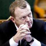 Lars Løkke sparker Venstres kampagne i gang (Foto: Keld Navntoft/Scanpix 2014)