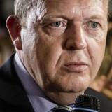 Arkivfoto: Venstres formand Lars Løkke Rasmussen på Christiansborg efter Venstres nederlag i Europaparlamentsvalget.