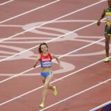 Russiske Maria Savinova vandt kvindernes 800 m ved OL i London i 2012. Hun er en af de russiske atleter, som nu er afsløret i doping.