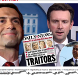 Forsiden af New York Daily News: »Forræddere«.