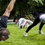ARKIVFOTO. Mange steder i landet skyder muligheden for såkaldt familietræning op.