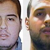 Brødrene Ibrahim El Bakraoui (t.v.) og Khalid El Bakraoui stod ifølge belgiske myndigheder bag selvmordsbomberne i henholdsvis Bruxelles' internationale lufthavn og i byens metro.
