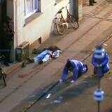 Den formodede gerningsmand bag weekendens terrordrab blev skudt og dræbt af politiet tidligt søndag morgen på Nørrebro i København. Foto: Reuters