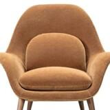 Swoon lænestol i velour fra Fredericia Furniture, 23.901 kr.