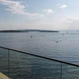 Fra Nordens dyreste lejlighed kan man nyde denne udsigt over Oslofjorden Foto: Privatmegleren