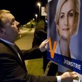 Arkivfoto. Venstre står til at gå til bage ved europaparlamentsvalget på søndag.