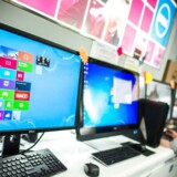 2013 blev den værste tilbagegang til dato for PC-salget, selv om der fortsat sælges en hel del af slagsen. Foto: Philippe Lopez, AFP/Scanpix