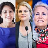 Marie Krarup, Øzlem Cekic, Johanne Schmidt-Nielsen, Helle Thorning-Schmidt, Lene Espersen.