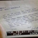 For 25 år siden fik en journalist tilsendt dette anonyme brev. Det er aldrig blevet opklaret, hvem der satte underskriften. Få dage efter var en af danmarkshistoriens største erhvervsskandaler en realitet. Privatfoto