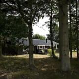 Arkivfoto: Sommerhus ved Hals, Bisnap Strand, på Vendsyssels østkyst.