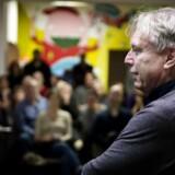 Uffe Elbæk ved et politisk orienterings- og debatmøde om Alternativet i København torsdag d. 9. januar 2014. (Foto: Liselotte Sabroe/Scanpix 2014)
