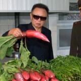 Den nordkoreanske leder, Kim Jong-Il (ham med radisen), er nu begyndt at Twitte