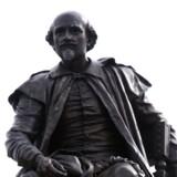Statue af digteren William Shakespeare i Stratford-upon-Avon. Foto: Torben Christensen