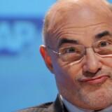 SAPs tidligere topchef, Léo Apotheker, der blev fyret i februar, overtager nu roret i verdens største IT-producent, Hewlett-Packard. Foto: Arne Dedert, AFP/Scanpix