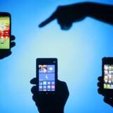 Samsung sælger flere smartphonetelefoner end alle sine fire nærmeste konkurrenter tilsammen. Alligevel mister både Samsung og Apple terræn. Arkivfoto: Dado Ruvic, Reuters/Scanpix