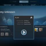 Dette skærmbillede fra Steam-programmet satser Valve på kan blive et fast indslag på stuens fjernsyn.