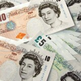 Arkivfoto: Britiske pund.