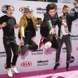Lukas Graham ankommer til 2016 Billboard Awards i Las Vegas, Nevada.