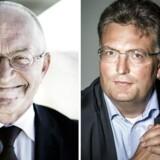 Torben Möger Pedersen og Jakob Baruël Poulsen