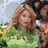 Gulnara Karimova, ældste datter af Usbekistans præsident gennem flere årtier, er nu også i de schweiziske myndigheders søgelys for bestikkelse, og flere end 800 millioner schweizerfrancs er indefrosset. Mobilgiganten Telia er indblandet i bestikkelsessagen. Arkivfoto: Sergei Ilnitsky, EPA/Scanpix