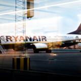Københavns Lufthavn tirsdag den 31. marts 2015. Her ses et Ryanair fly før afgang.