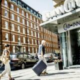 Flere end sidste år tjekkede ind på de danske hoteller i maj måned. Især amerikanere, kinesere og danskere stod for stigningen.