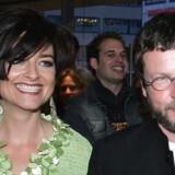 Lars von Trier sammen med hustruen Bente, som han nu skal skilles fra.
