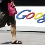 Googles meget brugte posttjeneste Gmail er nu næsten umulig at tilgå fra Kina. Arkivfoto: Jason Lee, Reuters/Scanpix