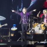Arkvifoto: Mick Jagger og resten af The Rolling Stones giver koncert i København til oktober.