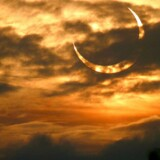 Arkivfoto. Fredag kan Danmark opleve solformørkelse.