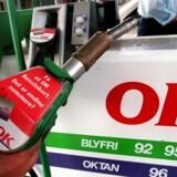 OK Benzin tankstation.