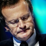 Telenors topchef, Jon Fredrik Baksaas, vil ikke udtale sig om bestikkelsessagen, selv om han sidder med i bestyrelsen. Arkivfoto Kyrre Lien, AFP/Scanpix