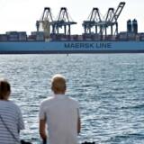 Maersk Line har brugt fem år på at udvikle systemet, der skal overvåge containerne.