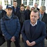 En lang række organisationer herunder DI og Dansk Erhverv stillede sig bag statsminister Lars Løkke Rasmussen 23. november efter en arbejdsfrokost på Marienborg, hvor de anbefalede danskerne at stemme ja til afskaffe retsforbeholdet.