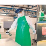 Gro Kjær arbejder er sygeplejerske på Svendborg Sygehus, men i år er julen med familien på Langeland skiftet ud med seks uger i Port Loko i Sierra Leone, hvor hun og 18 andre danskere deltager i den britisk-ledede ebola-operation. Onsdag er der afgang fra York, hvor de næsten 200 læger og sygeplejersker er i gang med et træningsforløb forud for operationen. Foto (t.v. og øverst t.h.): Si Longworth (sergent i den britiske hær)