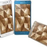 Galaxy Alpha-serien er telefoner med metalramme og ikke som hidtil plastik. Foto: Samsung