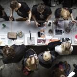 Det Natur-og biovidenskablige fakultet på Københavns Universitet holder åbent hus for årets studenter. Arkivfoto: Thomas Lekfeldt