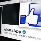 Beskedappen WhatsApp er blevet købt af Facebook. I dag har appen 450 millioner månedlige aktive brugere, og nu er kursen sat mod en milliarder, meddeler Facebook-topchef Mark Zuckerberg.