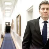 Bankdirektør Thomas Borgen tiltræder som ny konstitueret førstemand i Danske Bank (Foto: Nikolai Linares/Scanpix 2013)