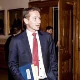 Bag tildelingen af de gemte penge til Afrika står udenrigsminister Kristian Jensen (V), der i december har været på rejse i blandt andet Kenya, hvor han besøgte en lejr med flygtninge fra Somalia og Sydsudan.