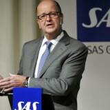 Den tidligere SAS-chef Mats Jansson træder ind i Telias udrensede bestyrelse. Arkivfoto: Henrik Montgomery, AFP/Scanpix