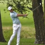 Tredje runde i European Tour-turneringen Volvo China Open blev en god en af slagsen for den danske golfspiller Lucas Bjerregaard.