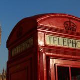 To af Londons mest kendetegnende ikoner på en skyfri forårsdag.