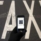 Beslutningen om at sige farvel til Dansk Industri handler om moral, lyder det fra Danmarks næststørste taxiselskab, 4x48 TaxiNord, der har meldt sig ud af DI i protest mod erhvervsorganisationens nyeste medlem – Ubers udviklingsafdeling i Danmark. (Foto: SERGIO PEREZ/Scanpix 2016)