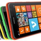 Lumia 625 har en skærm på 4,7 tommer og hører således til i den absolut store ende af skalaen. Foto: Nokia
